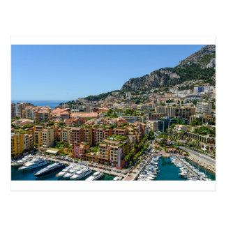 Monte Carlo Monaco Postcard