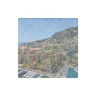 Monte Carlo Monaco Stone Magnet