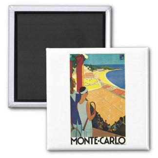 Monte Carlo Monaco Vintage Travel Fridge Magnets