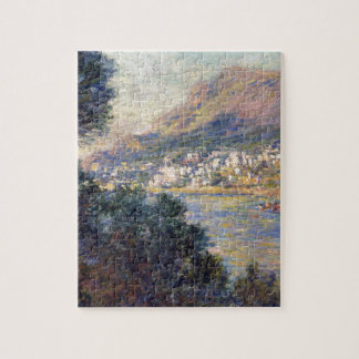 Monte Carlo Seen from Roquebrune by Claude Monet Jigsaw Puzzle