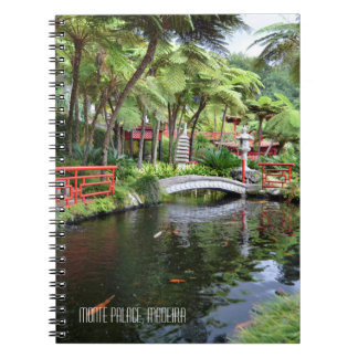 Monte Palace Tropical Gardens Madeira Portugal Notebooks