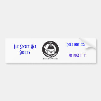 MonteagleShirt_BlackArtOnWhiteShirt, The Secret... Bumper Sticker