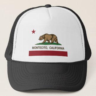 montecito california flag trucker hat