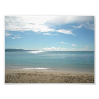 Montego bay beach beauty photo print