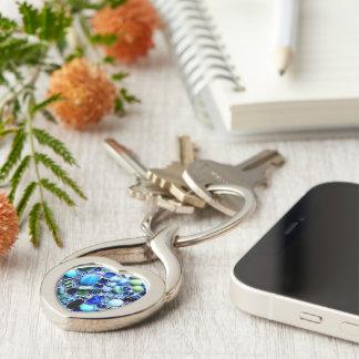Montego Blues Mosaic Key Ring