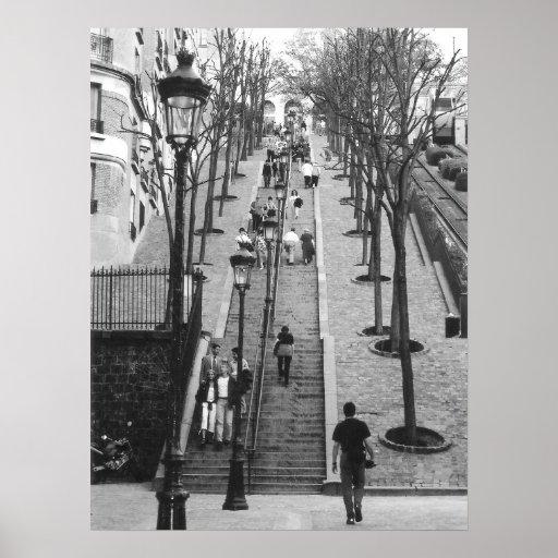 Montemarte, Paris poster
