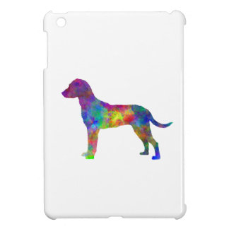 Montenegrin Mountain Hound in watercolor iPad Mini Covers