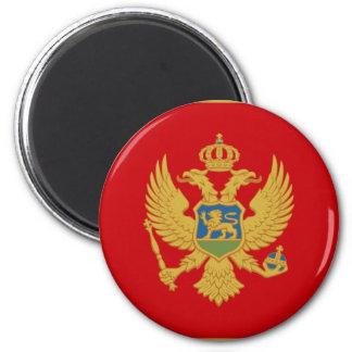 Montenegro 6 Cm Round Magnet