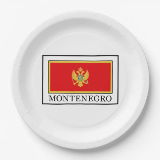 Montenegro 9 Inch Paper Plate