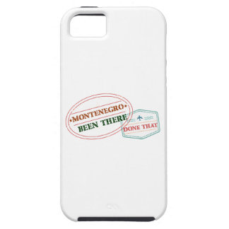 Montenegro Been There Done That iPhone 5 Case