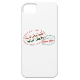 Montenegro Been There Done That iPhone 5 Cover