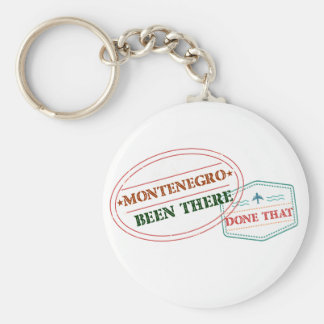 Montenegro Been There Done That Key Ring