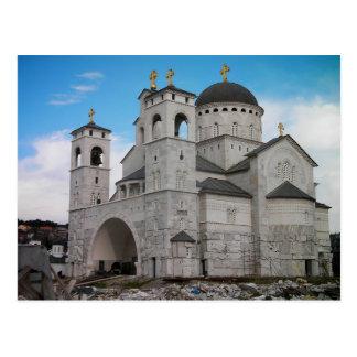 Montenegro - Cathedral Podgorica Postcard