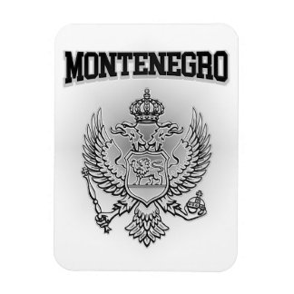 Montenegro Coat of Arms Rectangular Photo Magnet