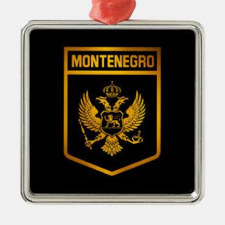 Montenegro Emblem Metal Ornament