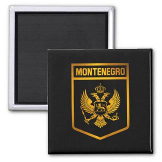 Montenegro Emblem Square Magnet