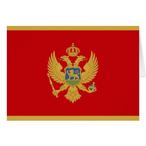 Montenegro Flag Cards