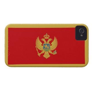 Montenegro Flag iPhone 4 Case-Mate Case