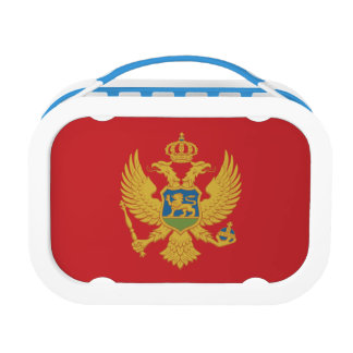 Montenegro Flag Lunch Box