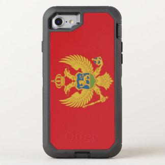 Montenegro Flag OtterBox Defender iPhone 8/7 Case