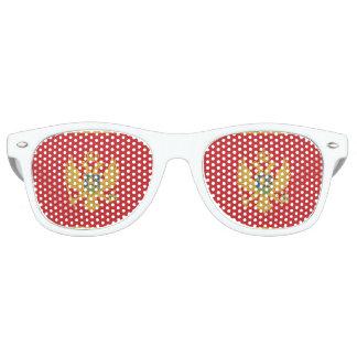 Montenegro Flag Retro Sunglasses