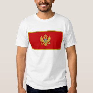 Montenegro Flag T-shirts