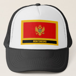 Montenegro Flag Trucker Hat