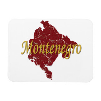 Montenegro Rectangular Magnets