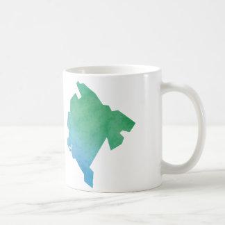 Montenegro Map Coffee Mug