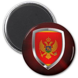 Montenegro Metallic Emblem Magnet