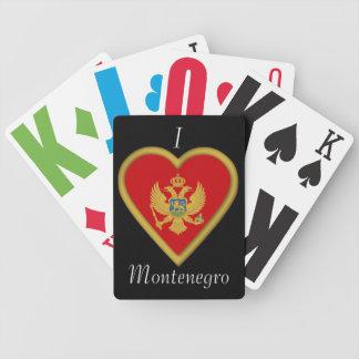 Montenegro Montenegran Flag Poker Deck