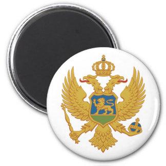 Montenegro, Montenegro 6 Cm Round Magnet