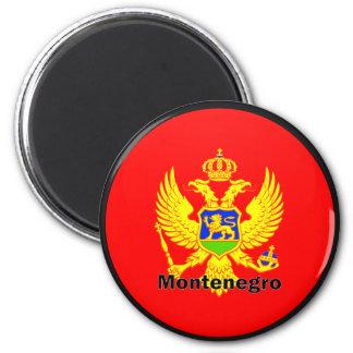 Montenegro Roundel quality Flag 6 Cm Round Magnet