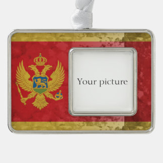 Montenegro Silver Plated Framed Ornament