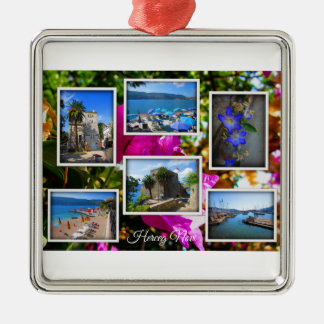 Montenegro Travel Collection – Herceg Novi Metal Ornament
