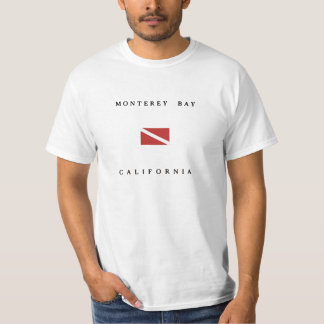Monterey Bay California Scuba Dive Flag T-Shirt