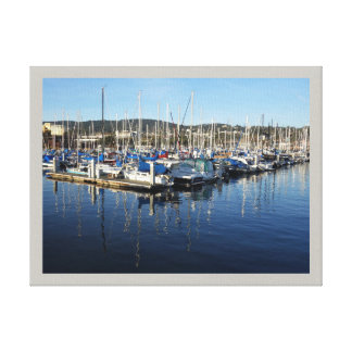 Monterey Bay California Wrapped Canvas
