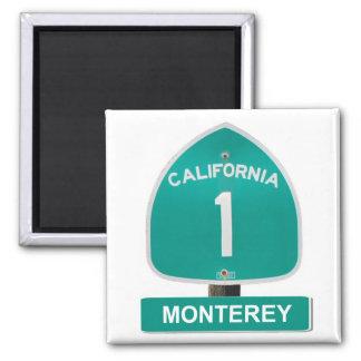 Monterey California Highway 1 Magnet