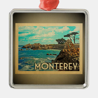 Monterey California Ornament Vintage Travel