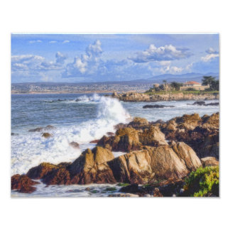 Monterey California Scenic Coast Photo Print