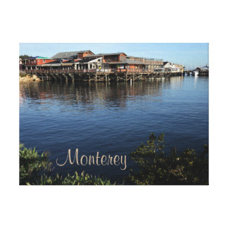 Monterey California Wrapped Canvas