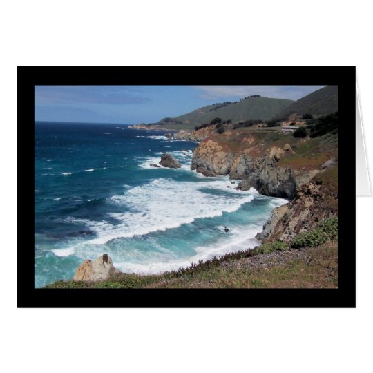 Monterey Coastline Card