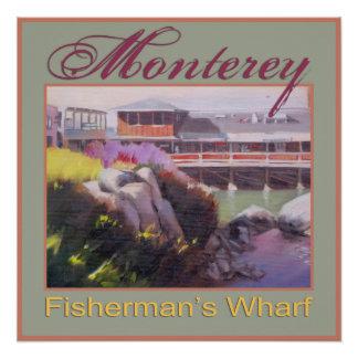 Monterey Fishermans Wharf Scenic California Coast
