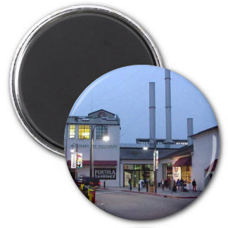 Monterey Night 6 Cm Round Magnet