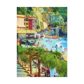Monterosso Cinque Terre Canvas Print
