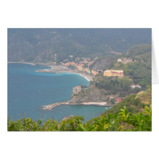 Monterosso Italy Card