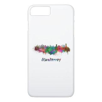 Monterrey skyline in watercolor iPhone 8 plus/7 plus case