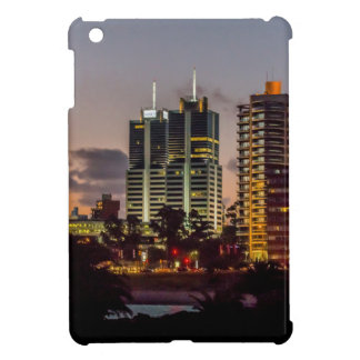 Montevideo Cityscape Scene at Twilight Case For The iPad Mini