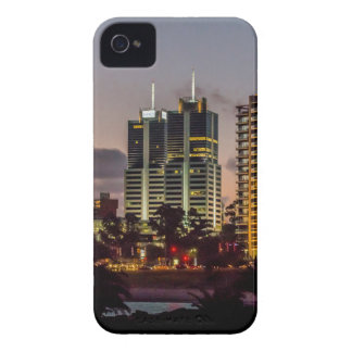 Montevideo Cityscape Scene at Twilight iPhone 4 Cover