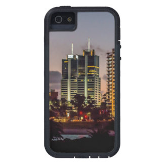 Montevideo Cityscape Scene at Twilight iPhone 5 Cases